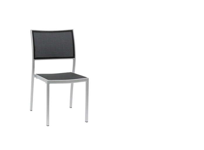 New Roma Sling Stacking Side Chair