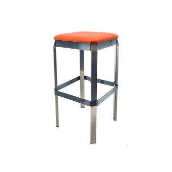 Quadra - Clear Coat Bar Stool