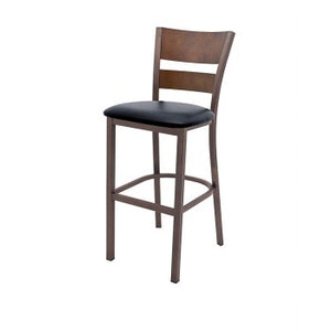 Stecca - Antique Bronze Bar Stool