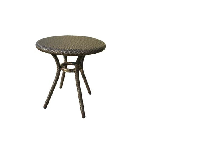 "Palm Harbor 18"" Round End Table w/Mesh Support"