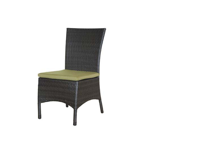 Palm Harbor Dining Side Chair w/Cushion - Resin & Aluminum