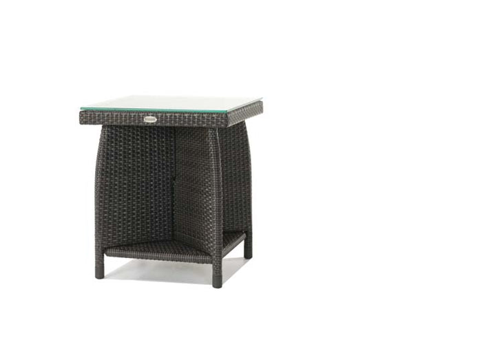 Palm Harbor End Table w/Glass