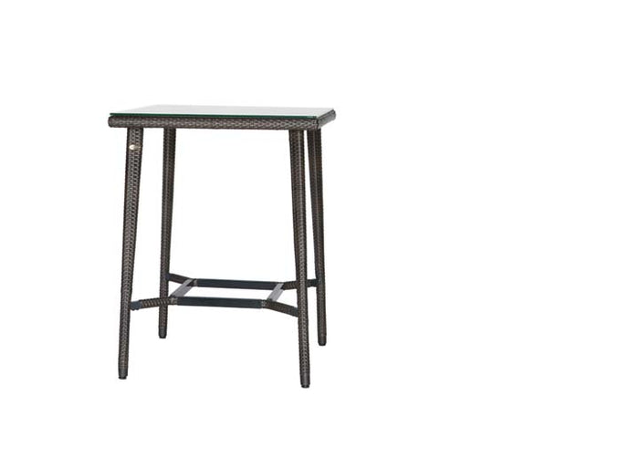 Palm Harbor Square Bar Table w/Glass
