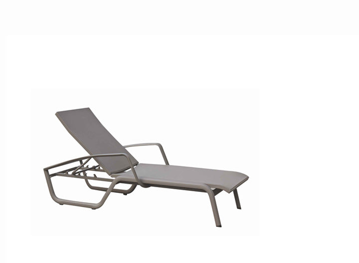 Pisa Stackable Lounger w/Arm