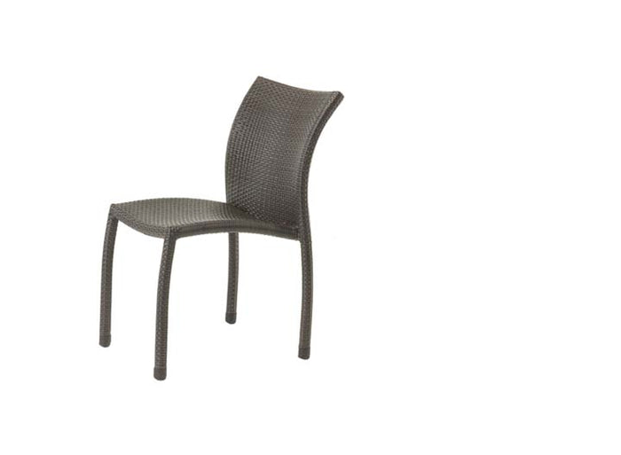 Riviera Stacking Side Chair - Resin & Aluminum
