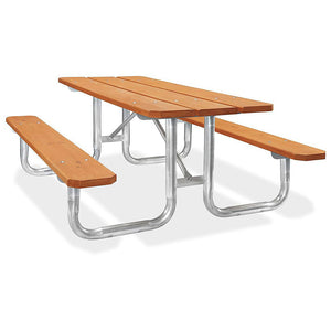 Steel Frame Picnic Tables