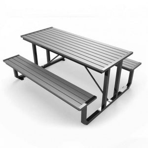 Traditional Picnic Table Recycled Plastic CAT-030