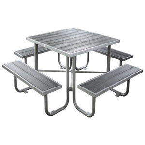 Wood-Plastic Composite Picnic Table CAT-200N