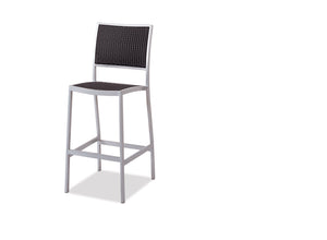New Munich Bar Chair - Resin & Aluminum