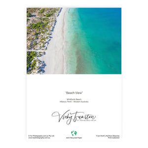 Beach View Card
