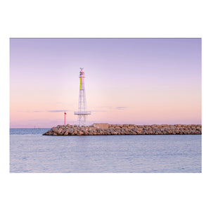 Pink Lighthouse Card