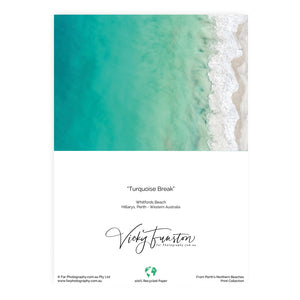 Turquoise Break Card