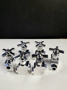 Faucet 1/2  zig zag slow down (polished)