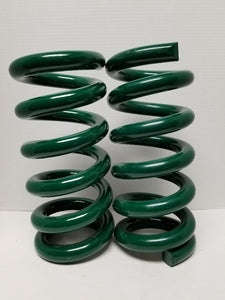 Springs full coil stack jammer 3.5 ton (green) pair