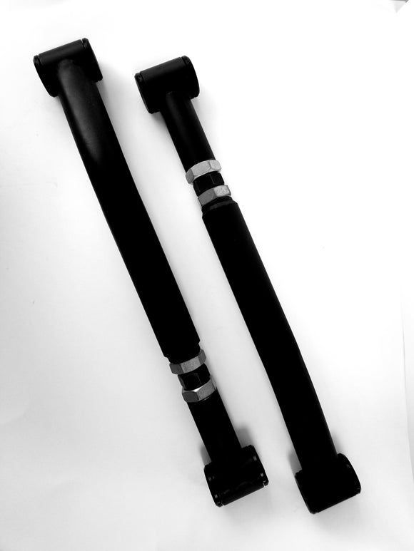 Adjustable lower trailing arms (pair)