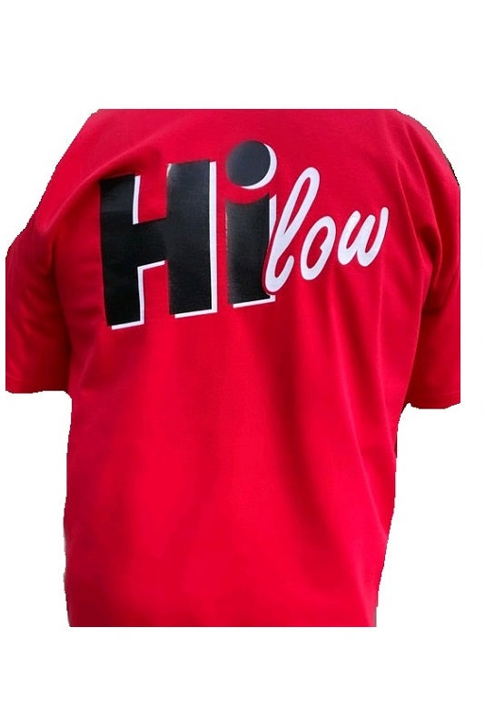 Hi-Low Red t-shirt