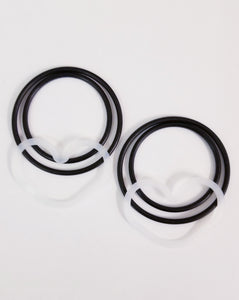 Heart Shape  Pump head  O-RING KIT