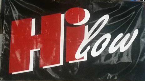 Hi-low banner 3 x 5ft