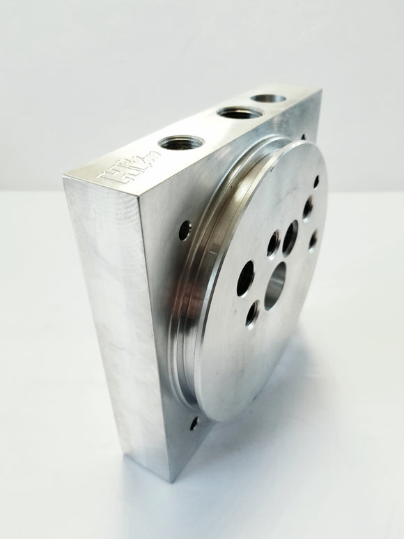 Hi-low series aluminum block 1/2