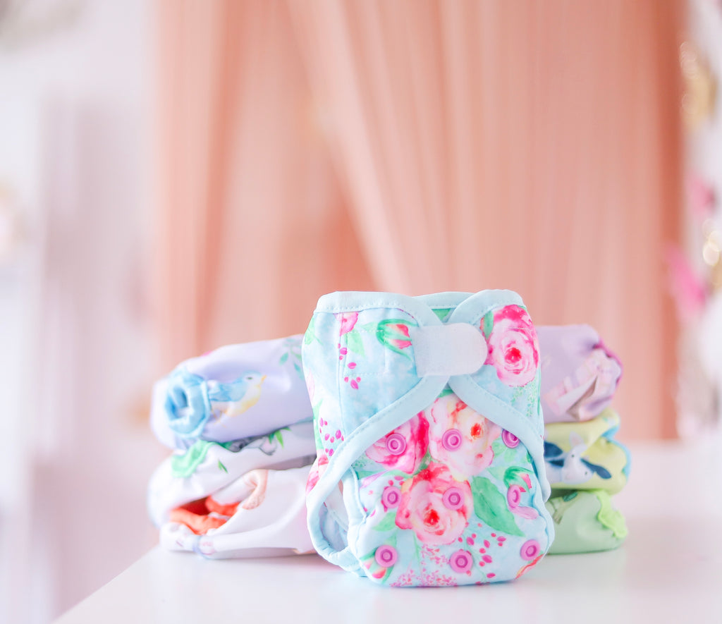 Newborn Modern Cloth Nappies