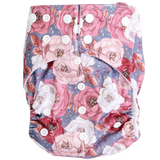 Boho Floral OSFM Nappy - Boho Babes Cloth Nappies