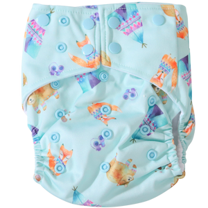 Camping Pals OSFM Nappy - Boho Babes Cloth Nappies