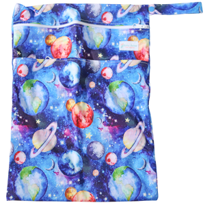 Cosmic consolations Wetbag - Boho Babes Cloth Nappies