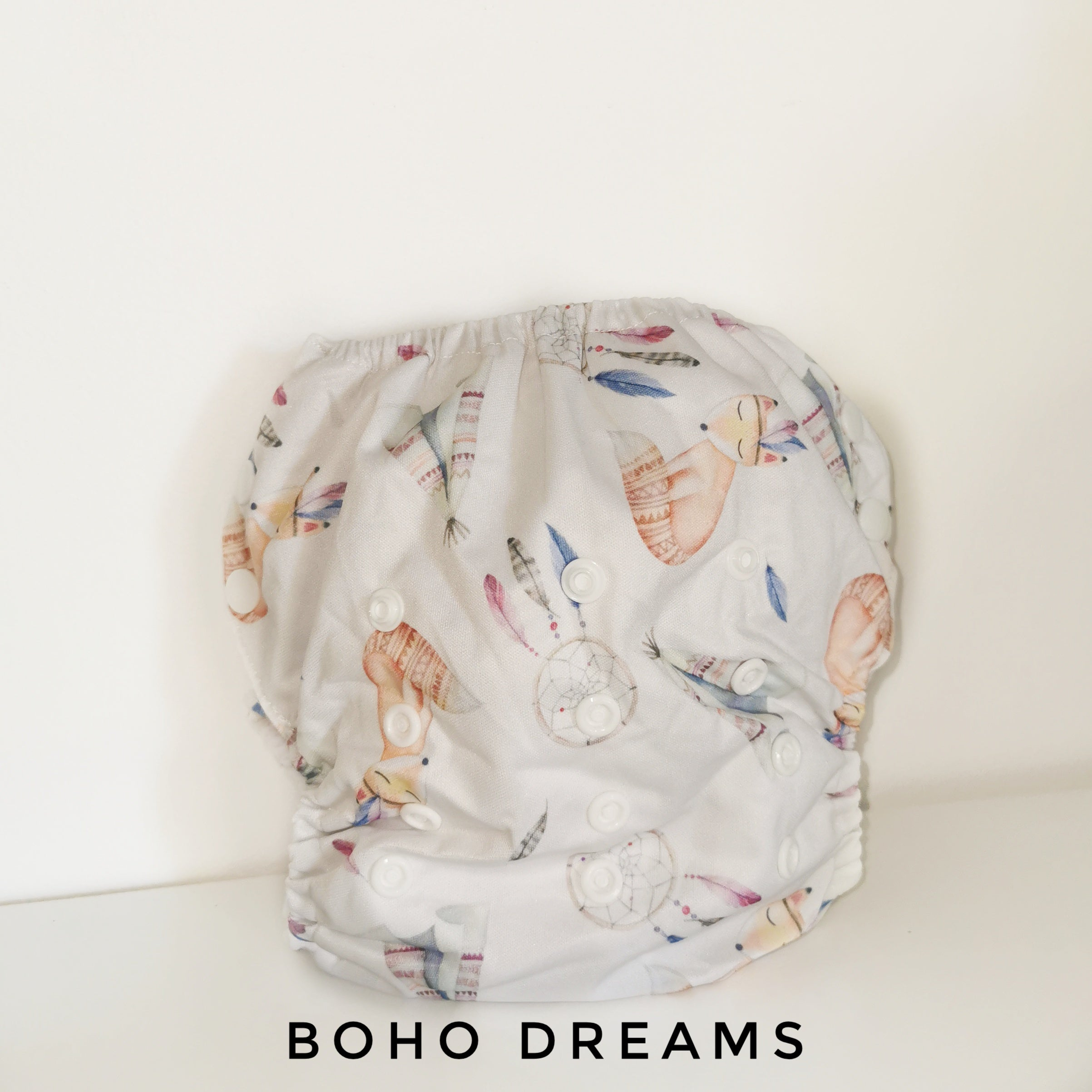 Pack of 2 NIGHT Nappies - Boho Babes Cloth Nappies