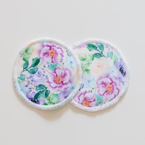 Nursing Pads - Purple Floral