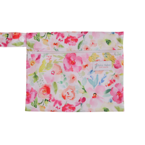Mini Wetbag - Spring floral