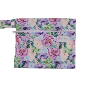 Mini Wetbag - Purple floral