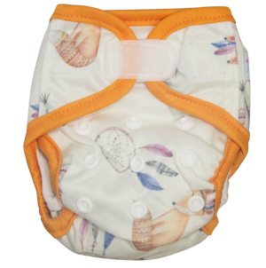 Newborn Nappy - Boho Dreams