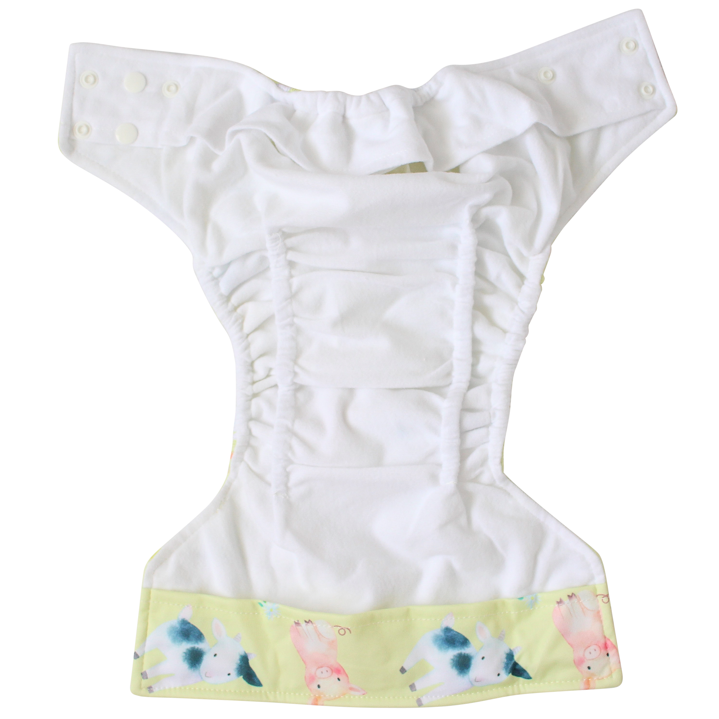 Aussie Birds OSFM Nappy - Boho Babes Cloth Nappies