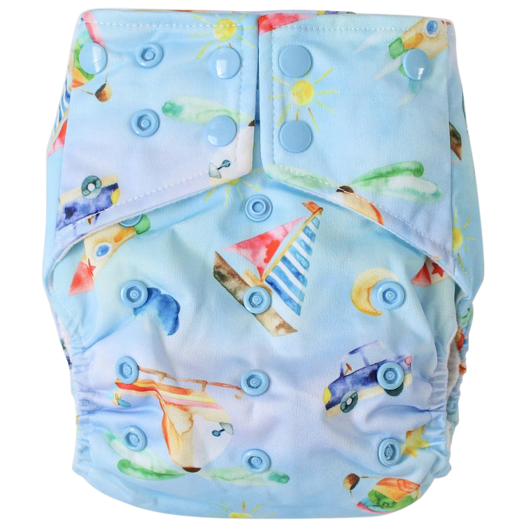 Little Explorers OSFM Nappy - Boho Babes Cloth Nappies