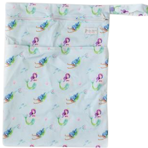 Mermaids Wetbag - Boho Babes Cloth Nappies