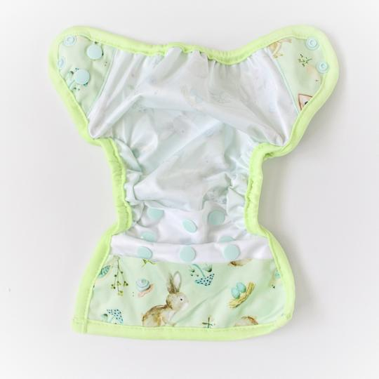 Newborn Nappy - Magical Magnolias