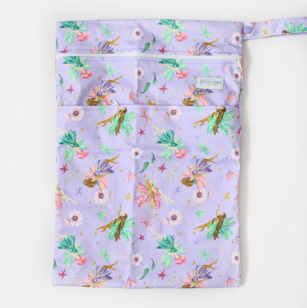 Firelight Fairies Wetbag - Boho Babes Cloth Nappies