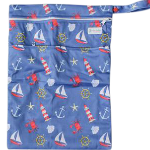 Ships Ahoy Wetbag - Boho Babes Cloth Nappies