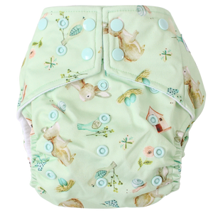 Spring Meadows OSFM Nappy - Boho Babes Cloth Nappies