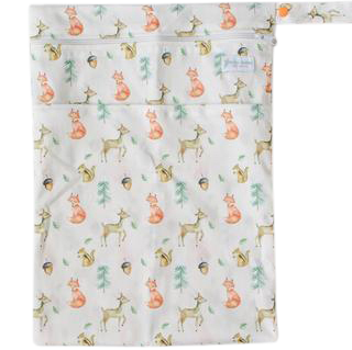 Woodland Friends Wetbag - Boho Babes Cloth Nappies