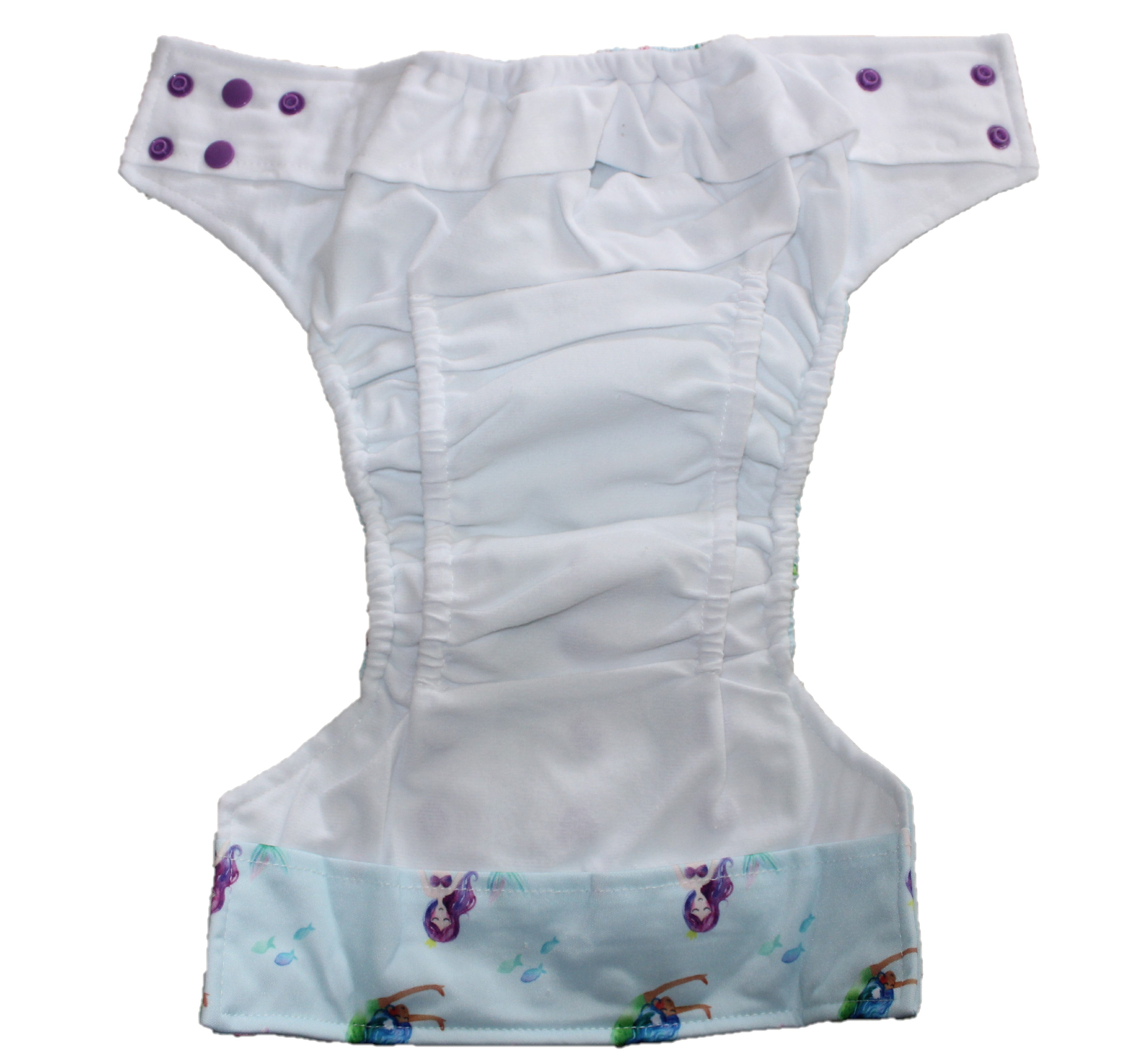 Monsters OSFM Nappy - Boho Babes Cloth Nappies
