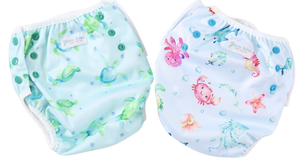 Pack of 2 Swim Nappies - Boho Babes Cloth Nappies