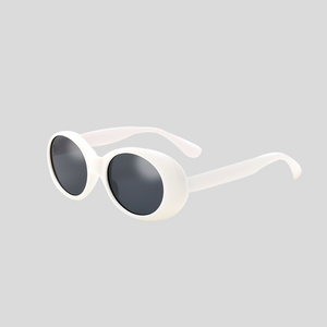 White Frame Clout Goggles