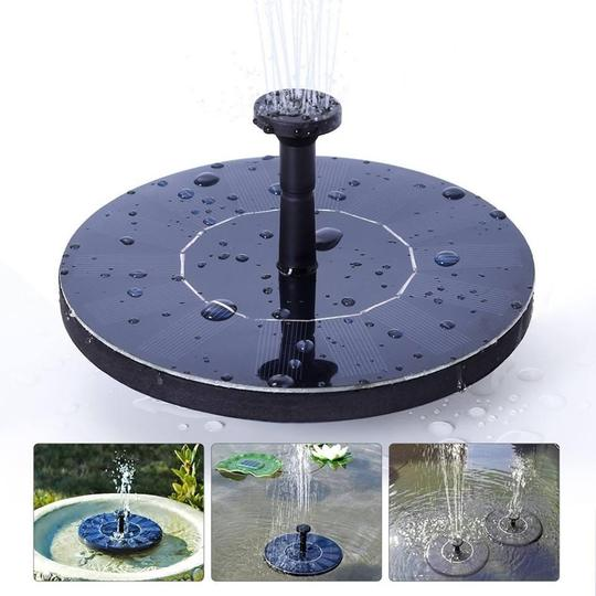 Solar Powered Bird Fountain (Free Shipping)