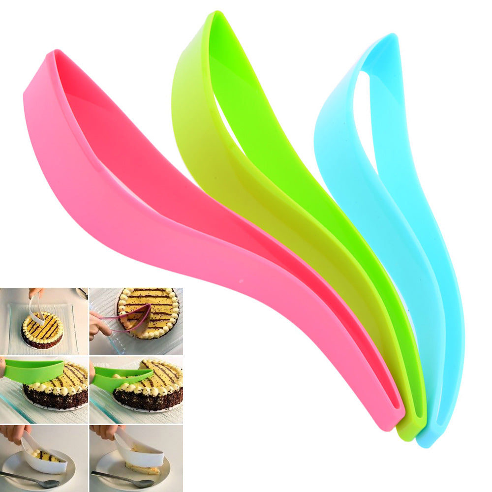 (2 pieces) Magic Cake Knife, Eco-friendly