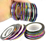 Rolls Striping Tape Line Nail Decoration Sticker
