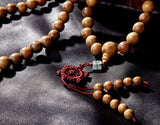 Sandalwood Beads Prayer Mala Necklace
