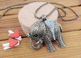 Elephant Long Necklace