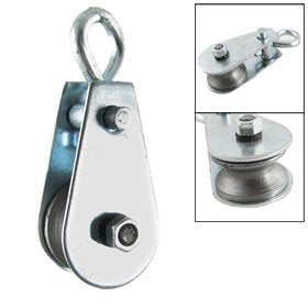 "Single Swivel Lifting 0.3"" Rope Pulley Sheave 0.03 Ton"