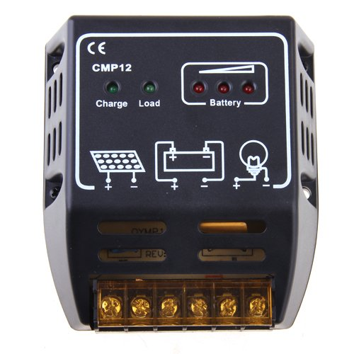 Solar Panel Charger Controller Regulator 10A 12V/24V
